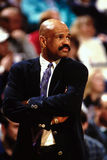 John Lucas, San Antonio Spurs, head coach. Stock Photography
