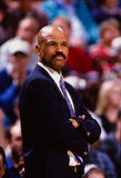 John Lucas, San Antonio Spurs, head coach. Stock Image