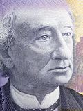 John A. Macdonald portrait. From Canadian money Stock Images