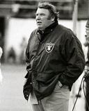 John Madden. Oakland Raiders head coach John Madden.  (Image taken from the B&W negative Stock Images
