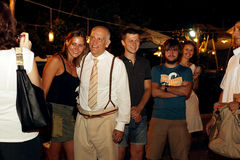 John Malkovich in Odessa Royalty Free Stock Image