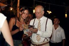 John Malkovich a Odessa Fotografia Stock