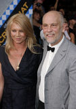 John Malkovich and Peta Wilson Royalty Free Stock Photos