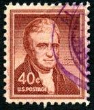 John Marchall USA Postage Stamp Stock Photos