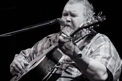 John Martyn at Joe's Pub New York City Royalty Free Stock Photo