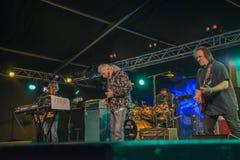 John Mayall-band die samen spelen Stock Afbeelding