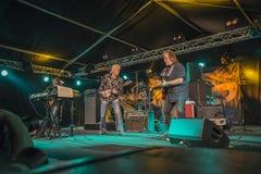 John Mayall-het spelen gitaar Stock Foto