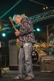 John Mayall que toca la guitarra Imagen de archivo libre de regalías