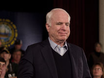 John McCain Royalty Free Stock Photography