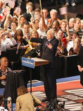 John McCain in Dayton Ohio Stock Image