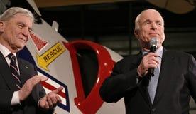 John McCain et John Warner Photo stock