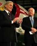 John McCain et John Warner Photographie stock libre de droits