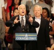 John McCain Rally en Floride image stock