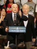 John McCain Rally en Floride photographie stock libre de droits