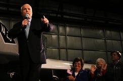 John McCain speech Royalty Free Stock Photo