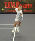 John McEnroe in acties Royalty-vrije Stock Foto