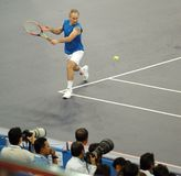 John McEnroe in actions Stock Photos