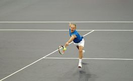John McEnroe in actions Stock Photography