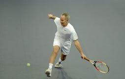 John McEnroe in den Tätigkeiten Stockbilder