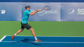 John Millman at the Winston-Salem Open Royalty Free Stock Image