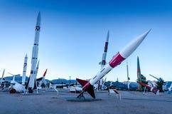 John Missile honesto - blanco enarena el museo del misil - nanómetro fotos de archivo libres de regalías