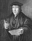 John More. (1451-1530) on engraving from 1800s. Lawyer and later judge, the father of Thomas More. Engraved by J.T.Mote and published by the London Printing and Stock Image