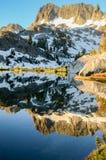 John Muir Trail Lake in Mammoth Mountain area Stock Photos