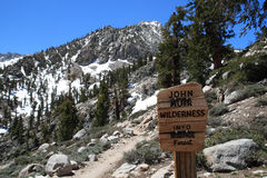John Muir Wilderness Royalty Free Stock Photo