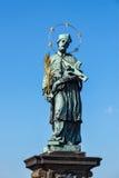 John of Nepomuk (or John Nepomucene) national saint of the Czech Royalty Free Stock Photos