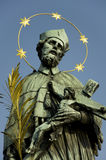 john nepomuk statua Obrazy Royalty Free