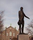 John O'Donnell Statue Canton Baltimore Royaltyfri Foto