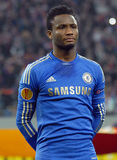 John Obi Mikel of Chelsea London Royalty Free Stock Image