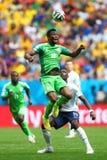 John Obi Mikel Coupe du monde 2014 Stock Images