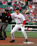 John Olerud, Boston Red Sox Lizenzfreies Stockbild