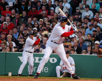 John Olerud Boston Red Sox Stockbild