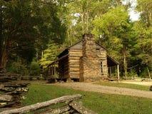 John Oliver kabina--Dymiące góry zdjęcie royalty free