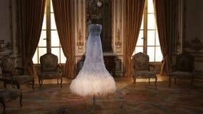 John Paul Gaultier klänning Arkivfoto