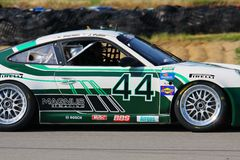 John Potter in the BMW Riley race car Stock Photography