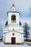 John Predtechi's church. Tobolsk district. Russia Royalty Free Stock Images