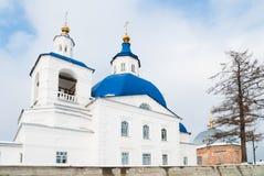 John Predtechi's church. Tobolsk district. Russia Stock Images