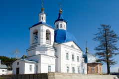 John Predtechi's church. Tobolsk district. Russia Royalty Free Stock Photos