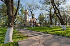 John Predtechi's church in Vologda. John Predtechi's church in Roshchenye in Vologda, 1710 stock image