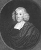 John Ray. (1627-1705) on engraving from the 1800s. English naturalist, referred as the father of English natural history. Engraved by H.Meyer and published in Royalty Free Stock Photo