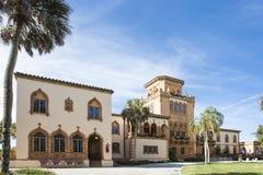 John Ringling Mansion Architecture Fotografia de Stock Royalty Free