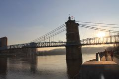John Robeling Bridge Imagenes de archivo