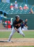 John Rodriguez running - baseball baserunner Stock Images