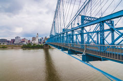 John A. Roebling Suspension Bridge Stock Photos