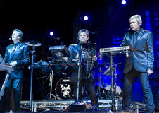 John and Roger Taylor and Simon Le Bon Royalty Free Stock Photography