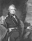 John Ross. (1777-1856) on engraving from the 1800s Royalty Free Stock Photos