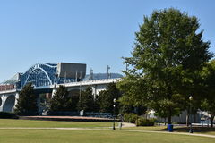 John Ross Bridge on Market Street in Chattanooga, Tennessee Stock Images